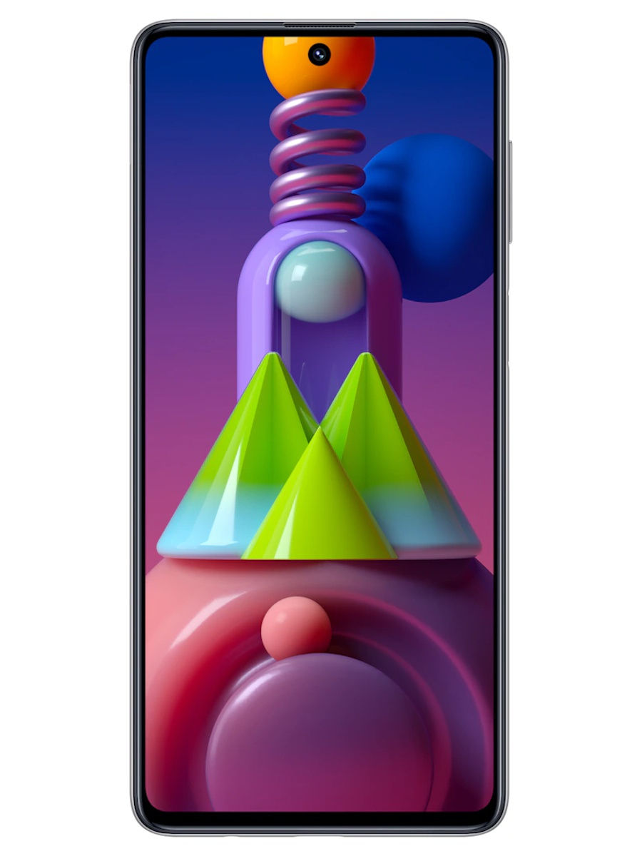 "Samsung / Смартфон Galaxy M51 128Gb: 6.7"" 1080x2400/sAMOLED+ Snapdargon 730 6Gb/128Gb 64+12+5+5Mp/32Mp 7000mAh"