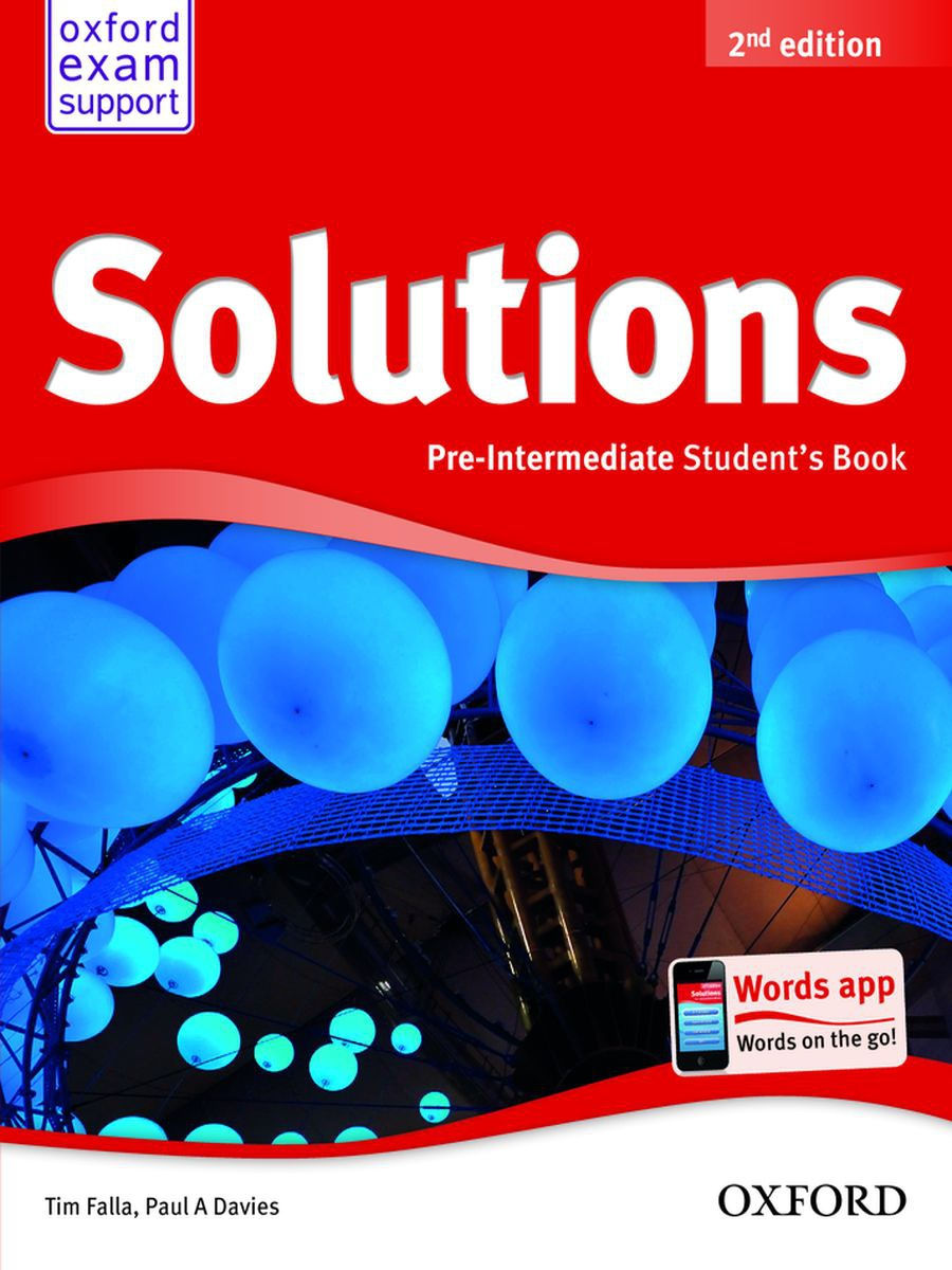 Oxford University Press / Solutions (2nd edition)  Pre-Intermediate Student's Book