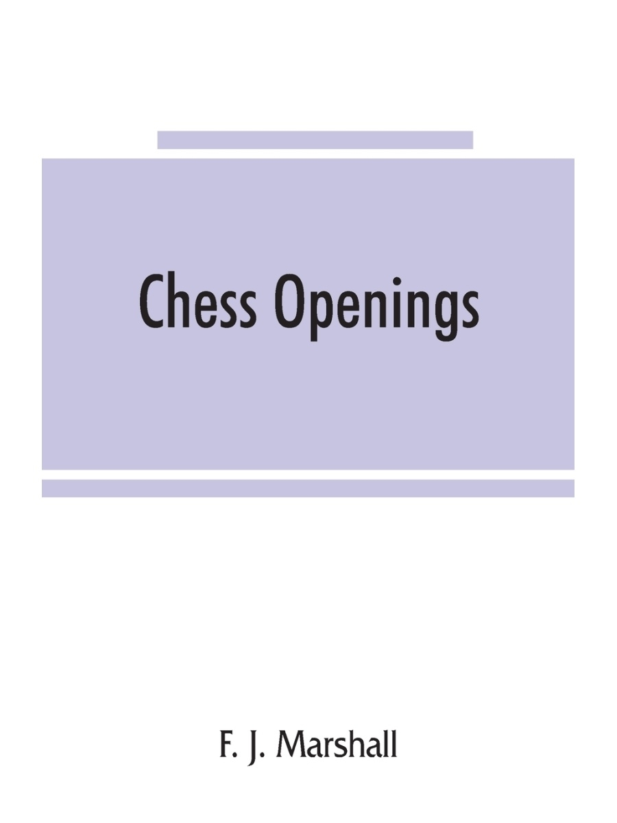 Alpha Editions / Chess openings