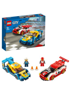 Конструктор LEGO City Nitro Wheels 60256 Гоночные автомобили LEGO