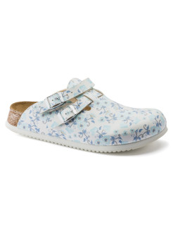 Сабо Kay SL BF DD Blooming Roses Blue Narrow BIRKENSTOCK