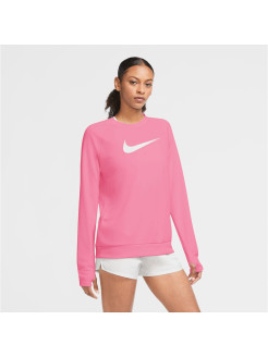 Лонгслив W NK SWOOSH RUN TOP CREW Nike