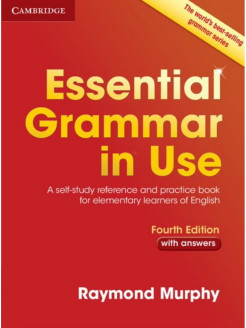 Essential Grammar in Use. A Self-Study Reference and Practice Book for Elementary Learners. Cambridge University Press