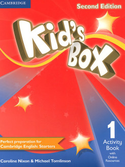 Kid's Box. Level 1. Activity Book with Online Resources. Cambridge University Press