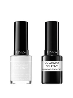 Набор: 014 Лак colorstay gel envy sure thing 240-510 + верхнее покрытие Revlon