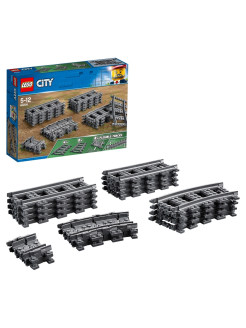 Конструктор LEGO City Trains 60205 Рельсы LEGO