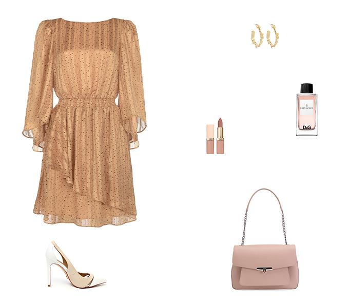 Яркое платье: 5 образов от стилиста