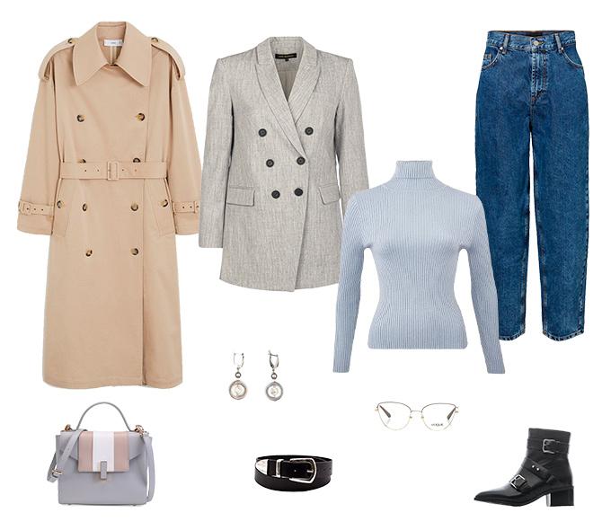 Офисный гардероб на раннюю весну: 5 образов от стилистов.