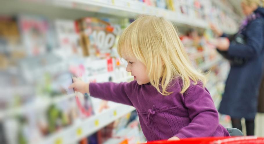 Ребёнок в магазине: 6 правил спокойного взаимодействия