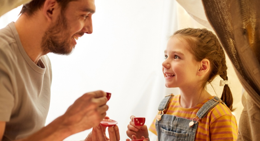 Я — папа, и у меня — дочь