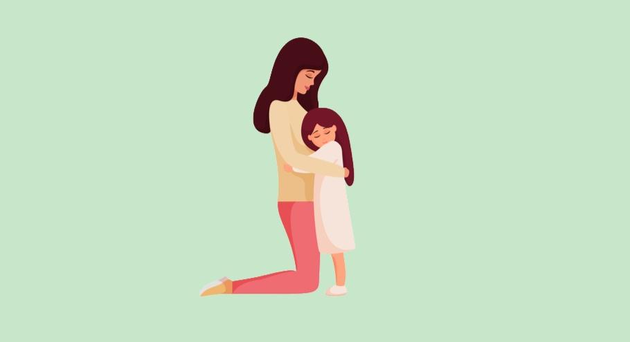 Ребёнок никуда не отпускает маму от себя