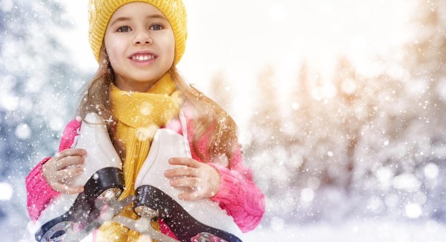 Отправляемся на каток искать зиму: выбираем коньки для ребёнка