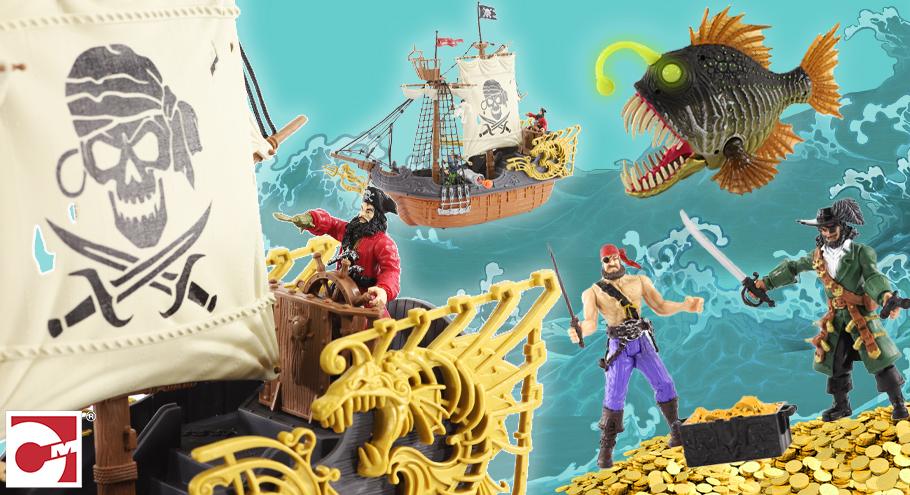 Покоряем океаны: что подарить маленькому пирату?