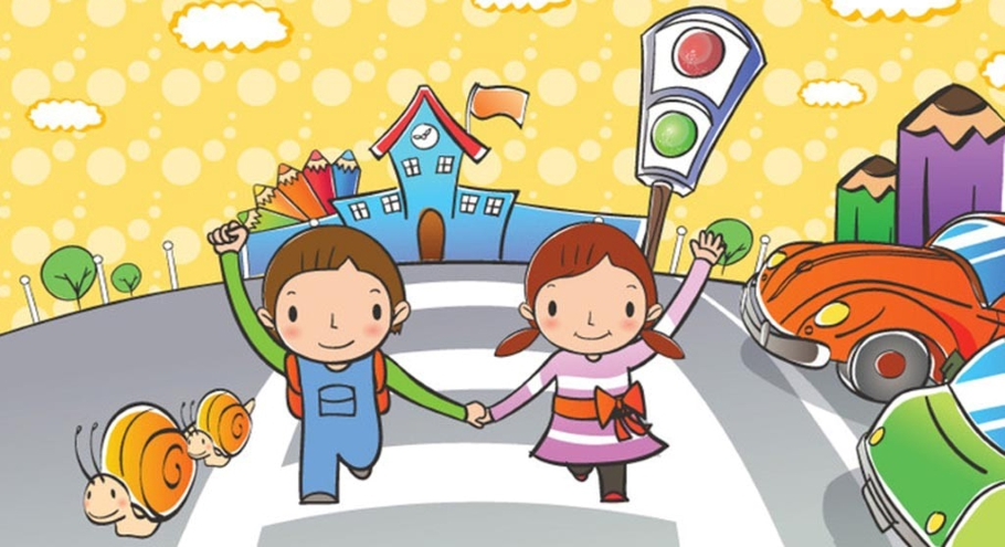 Напоминаем детям о правилах дорожного движения!