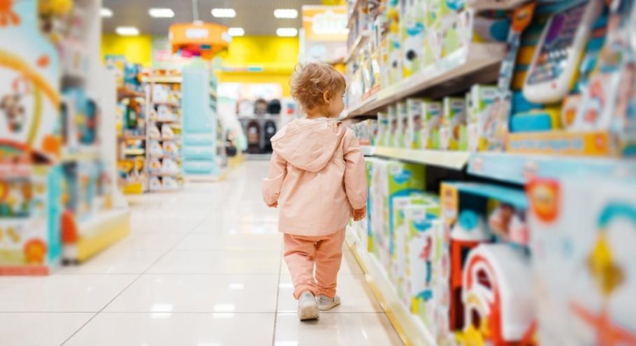 Идём в магазин с ребёнком