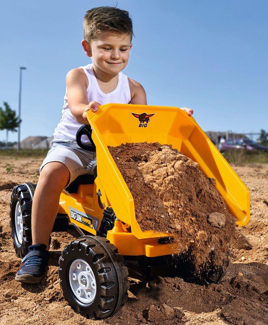 Трактор педальный строительный