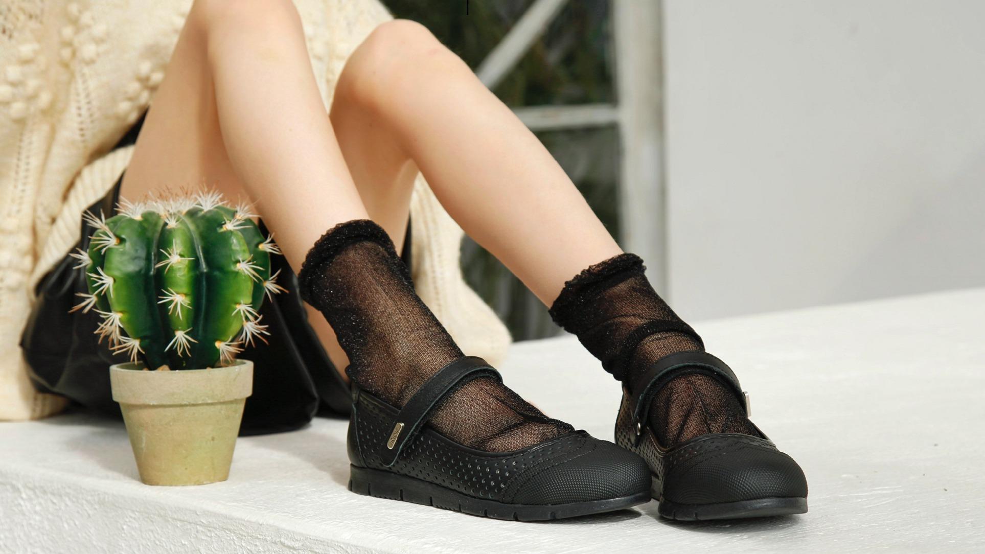 Обувь с защищенным мыском.