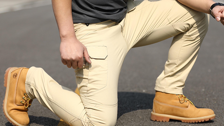 Штаны мужские карго ‒ тактические брюки с накладными карманами