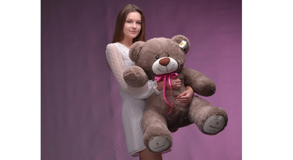 Плюшевый медведь - лучший друг!