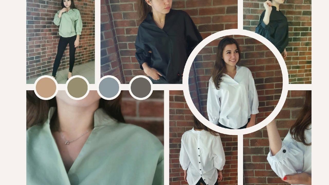 Блузка - главная вещь в гардеробе каждой девушки.