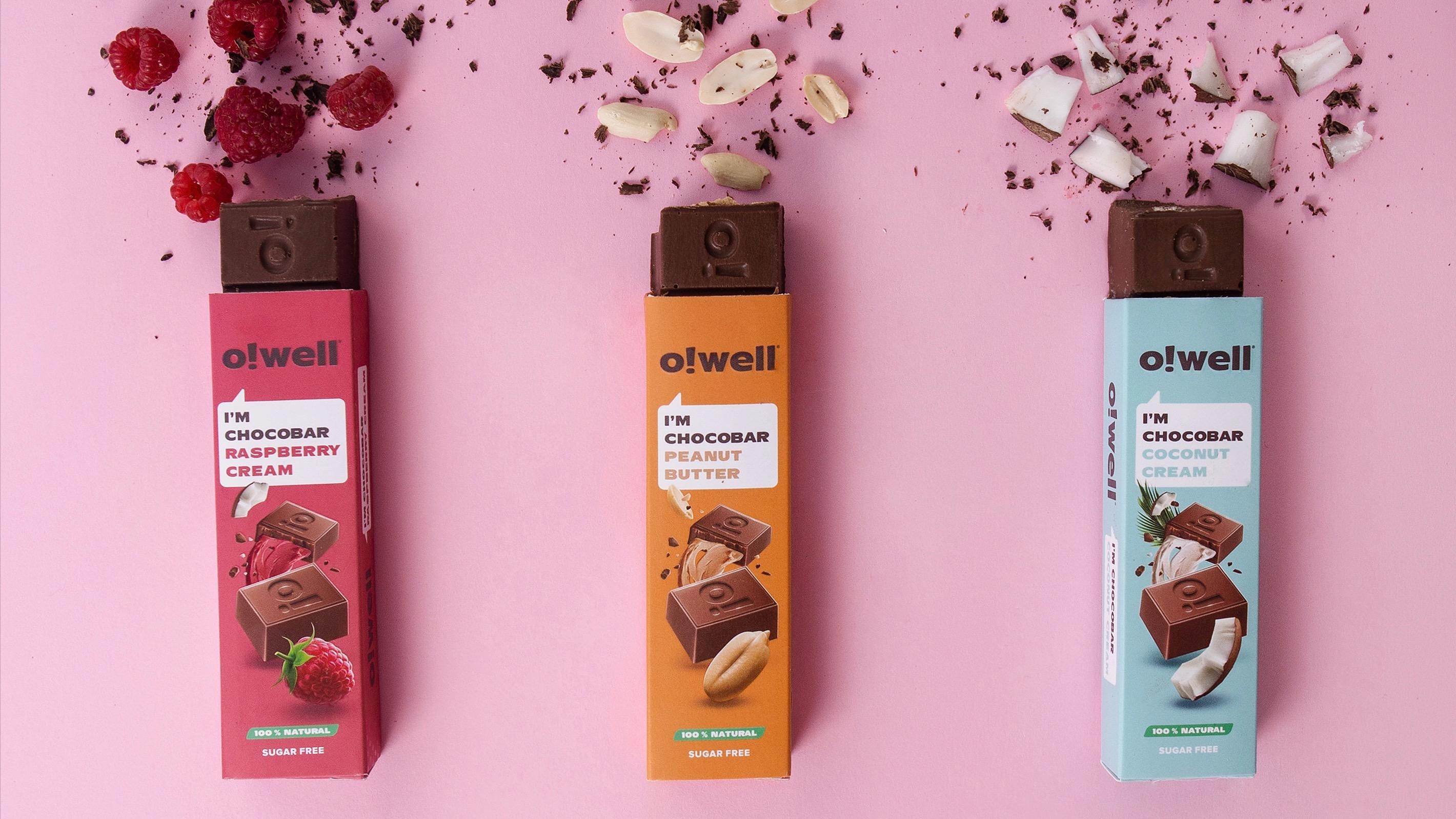 Шоколадные батончики Chocobar