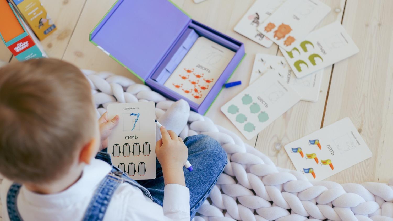 Научите ребенка в игровой форме писать буквы, цифры и считать за 1 месяц