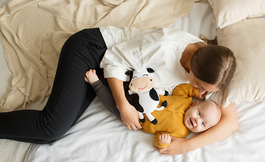 Справляемся с коликами у новорождённых при помощи чудо-игрушки