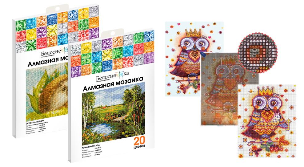 Алмазная мозаика в пакете: что нужно знать при покупке