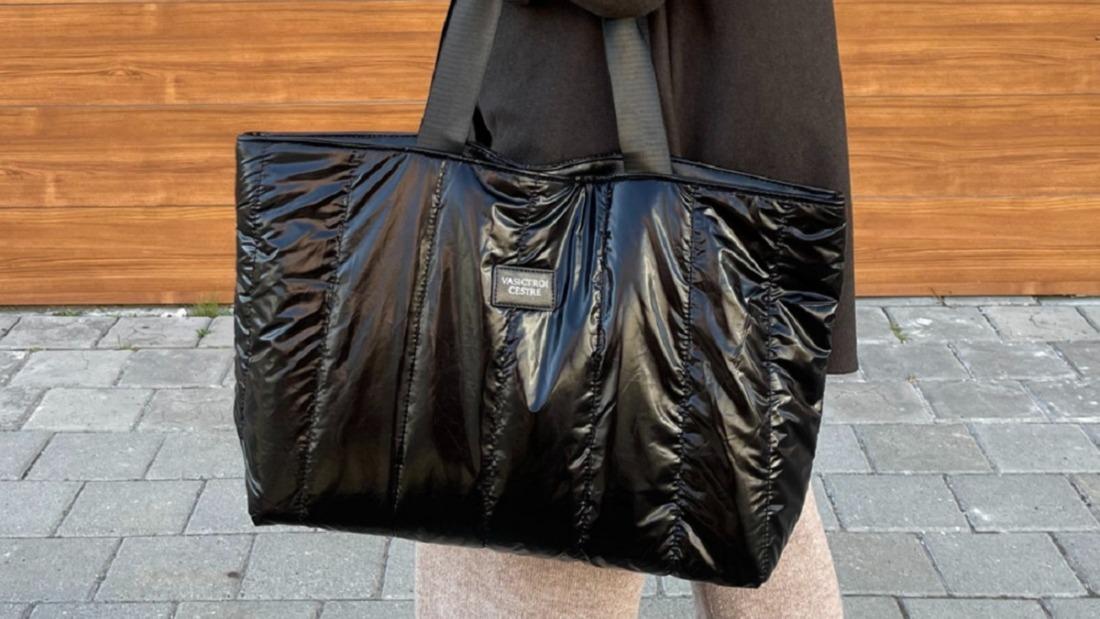 Шоппер стеганый-самая трендовая, модная сумка сезона осень-зима 2021/2022 года