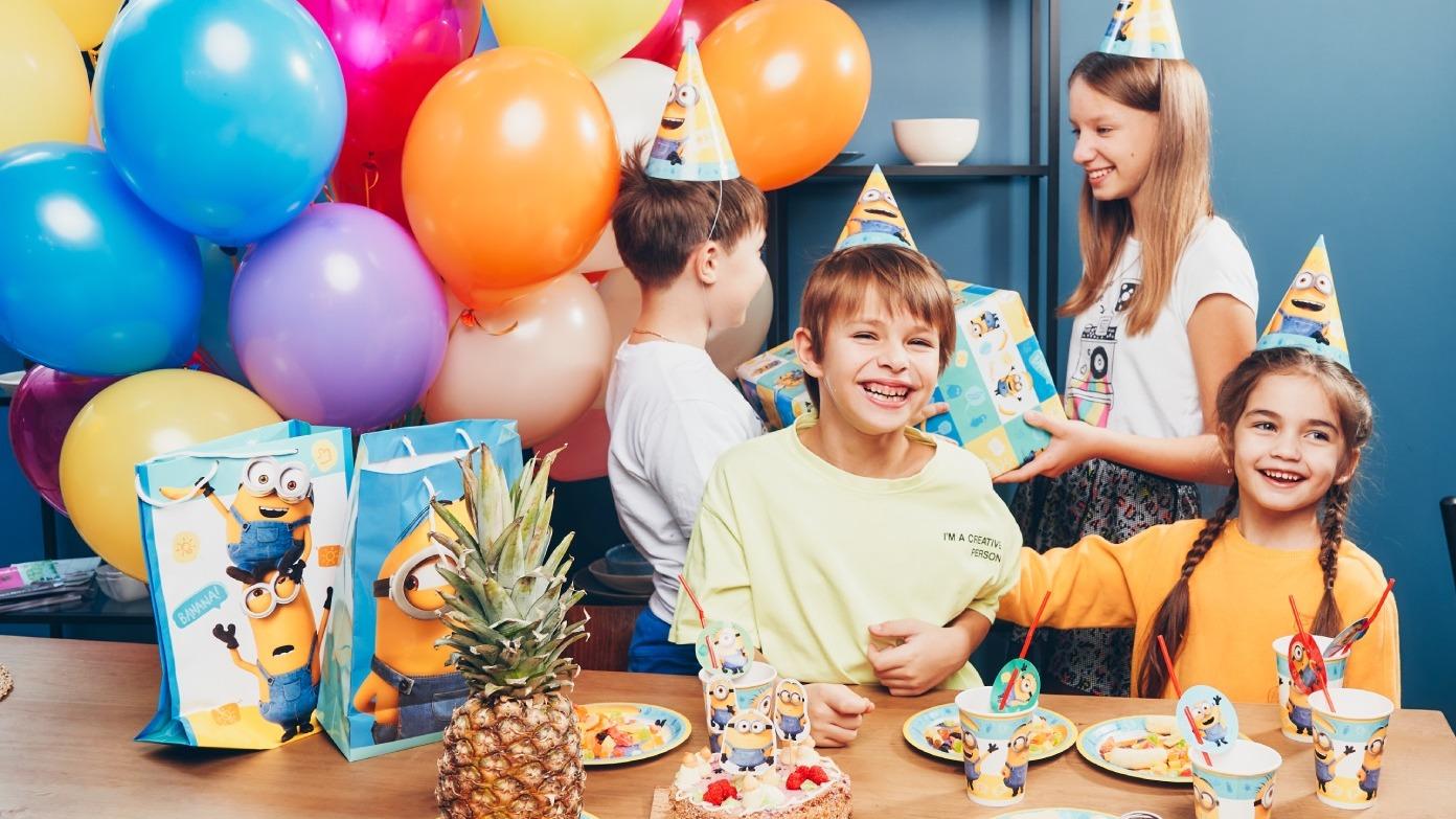Устраиваем детский праздник: посуда, салфетки и хорошее настроение
