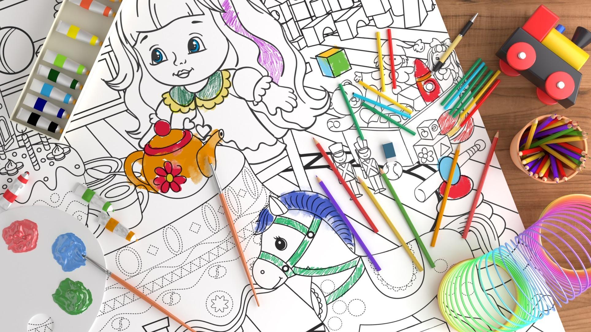 Как развить творческие способности ребёнка с помощью раскраски