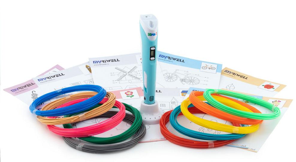 Объёмное творчество или почему стоит купить ребёнку 3D ручку 3DPEN-2