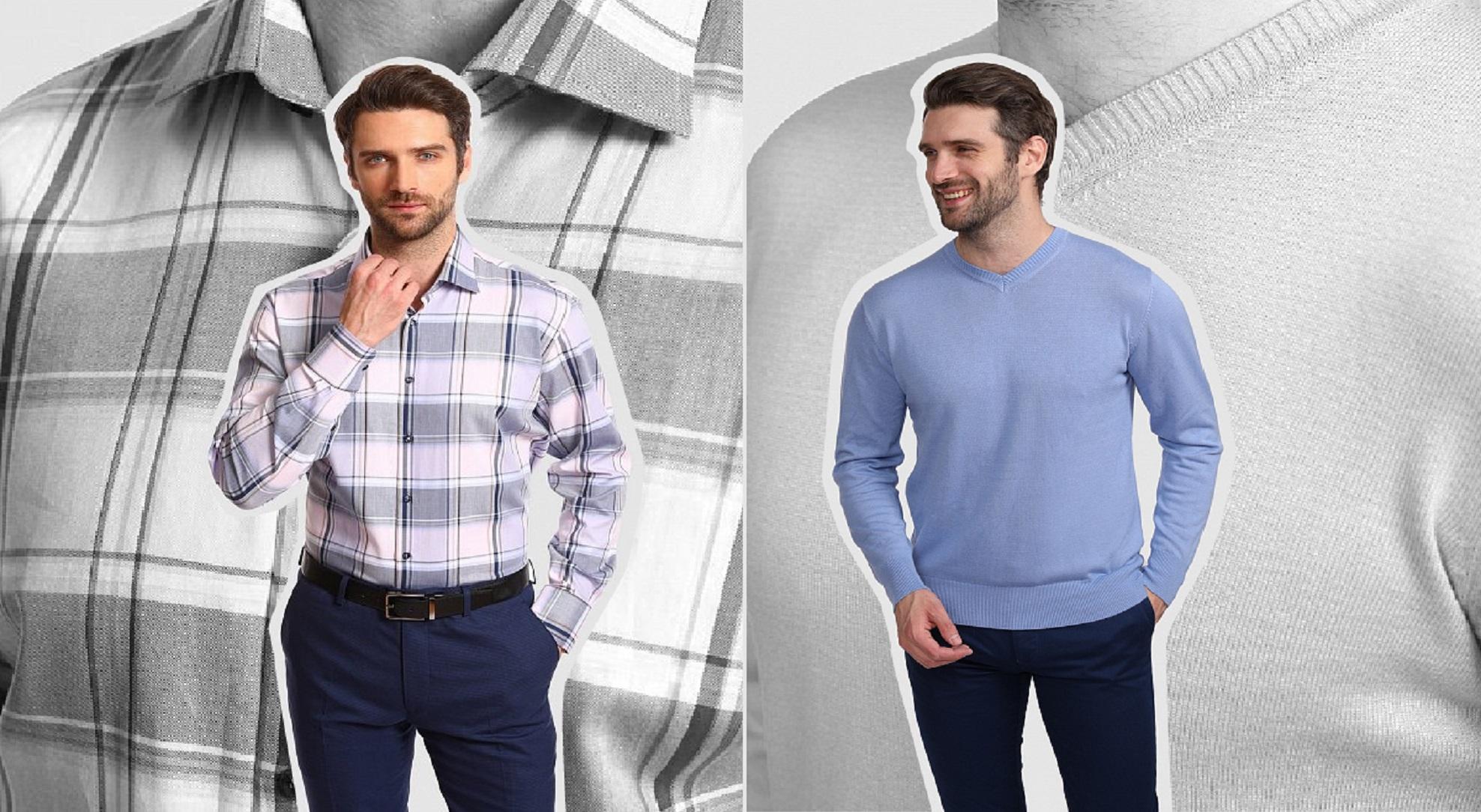 Рубашка + джемпер: стильные, теплые и уютные сочетания от KANZLER