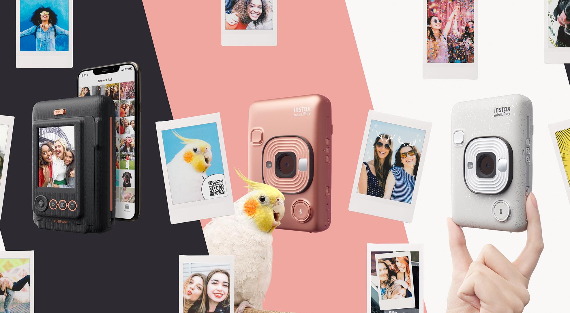 Instax mini LiPlay: миниатюрная революция моментальной печати