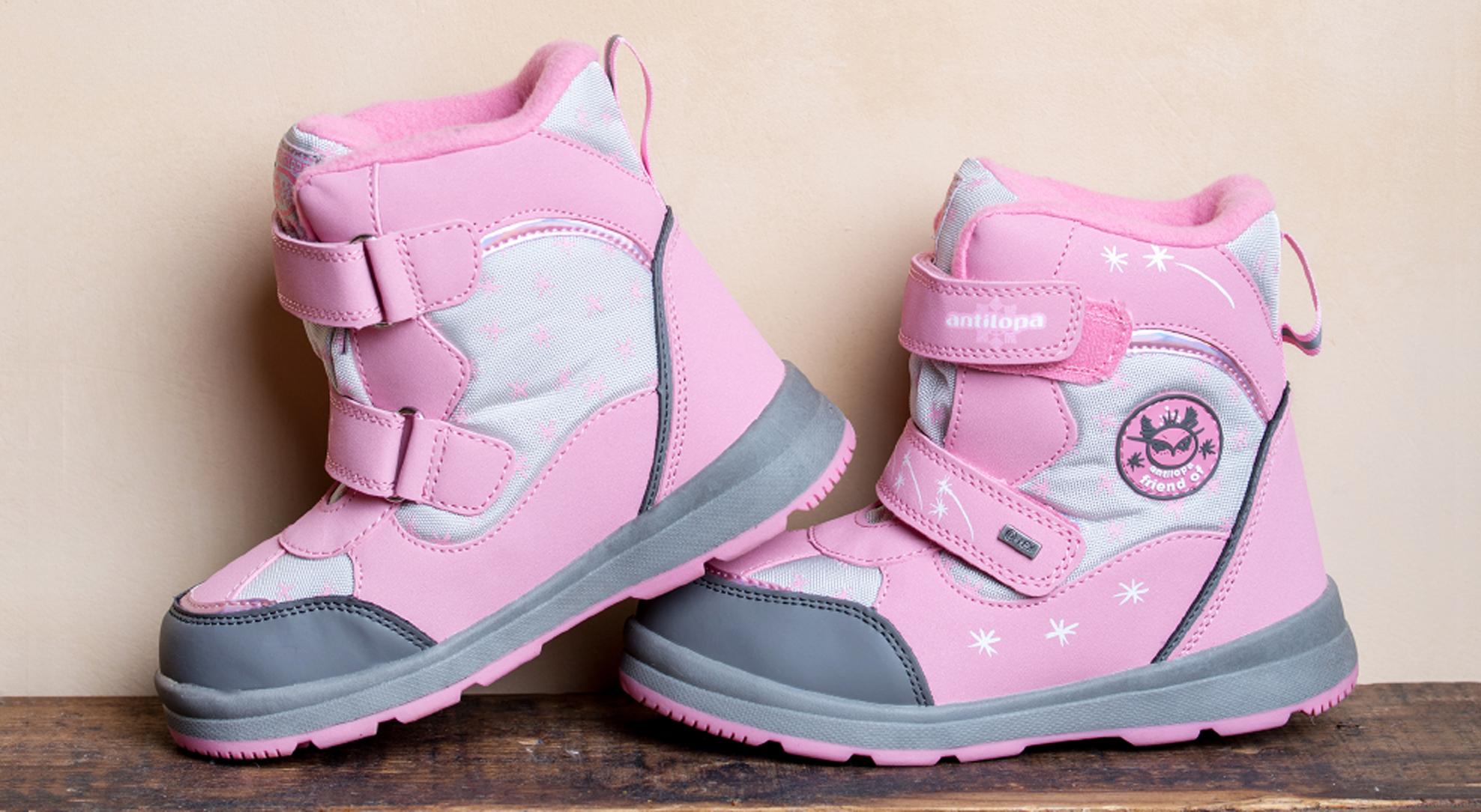 Выбираем зимнюю обувь для детей: умные технологии от Antilopa.