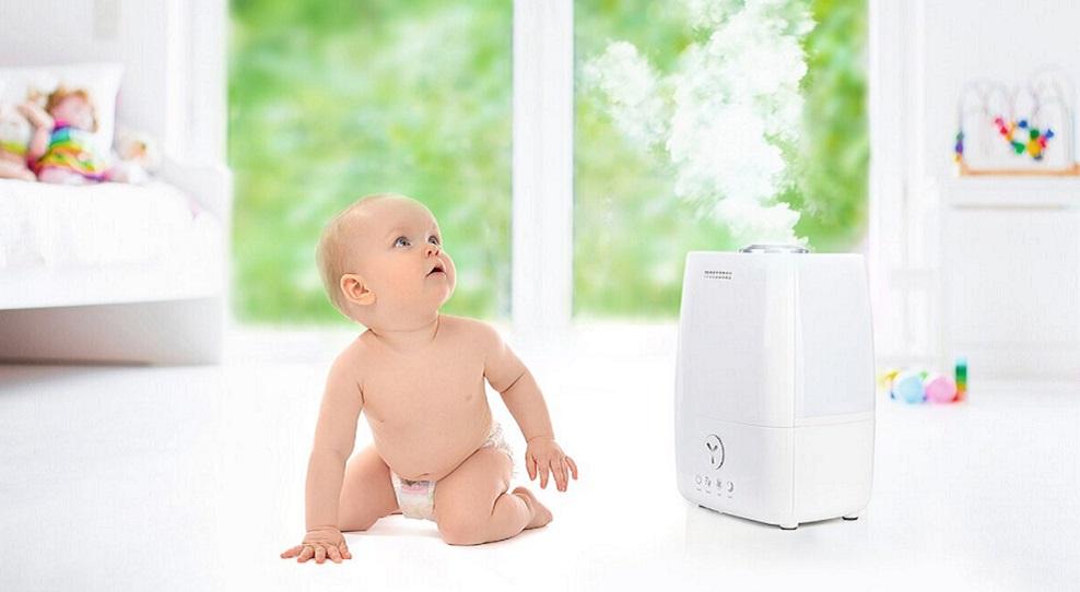 Как увлажнять воздух без вреда для детей