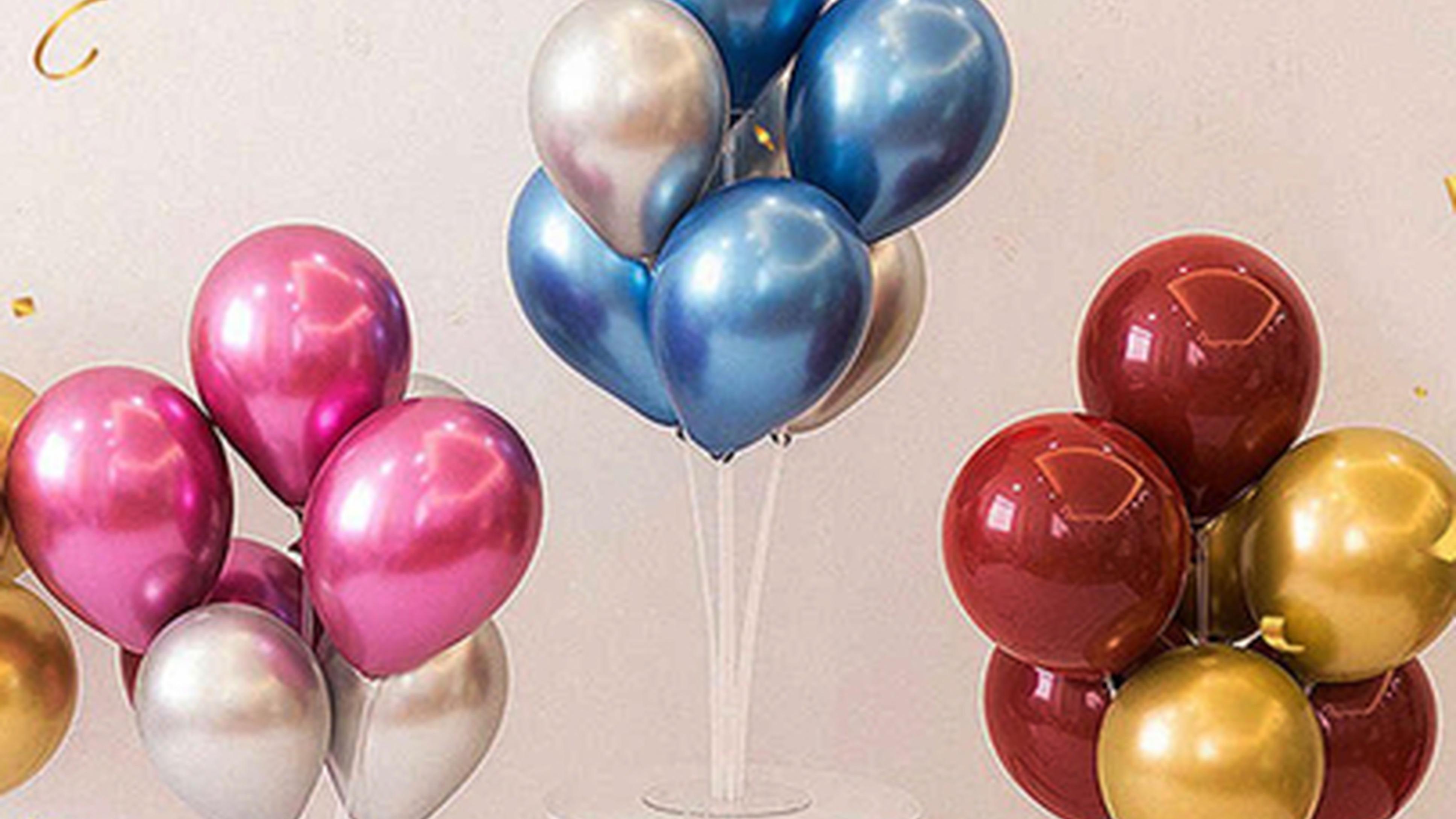 Вам больше не нужно наполнять воздушные шары гелием !