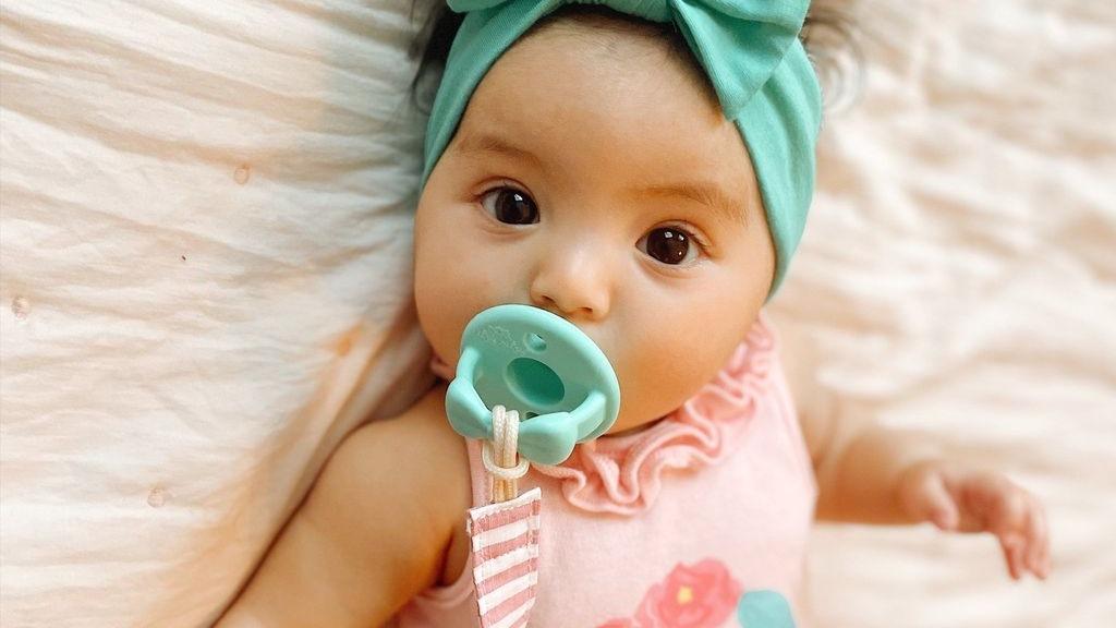 Идеальная пустышка для новорожденных