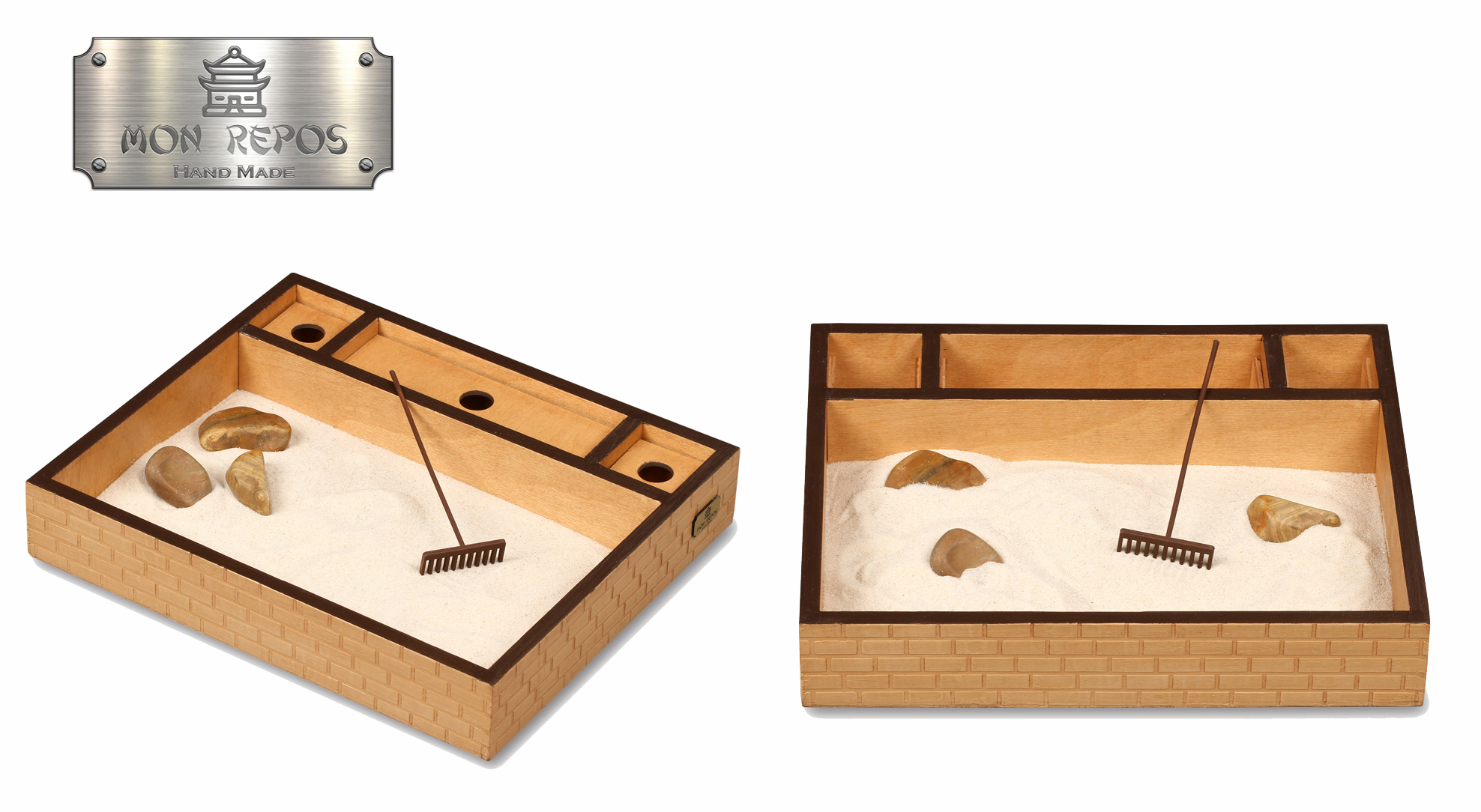 Японский настольный садик камней – антистресс на работе.