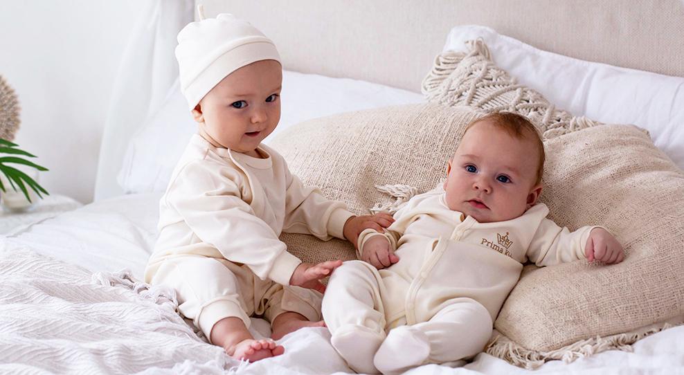 Органическая одежда от Prima Kids — неоценимый вклад в здоровье младенца