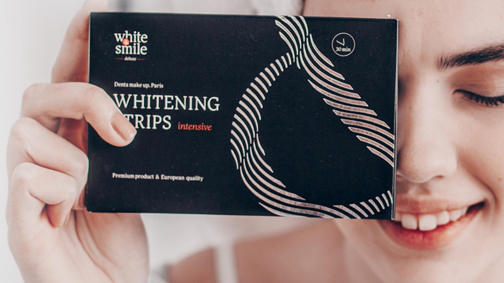 Полоски для интенсивного отбеливания зубов