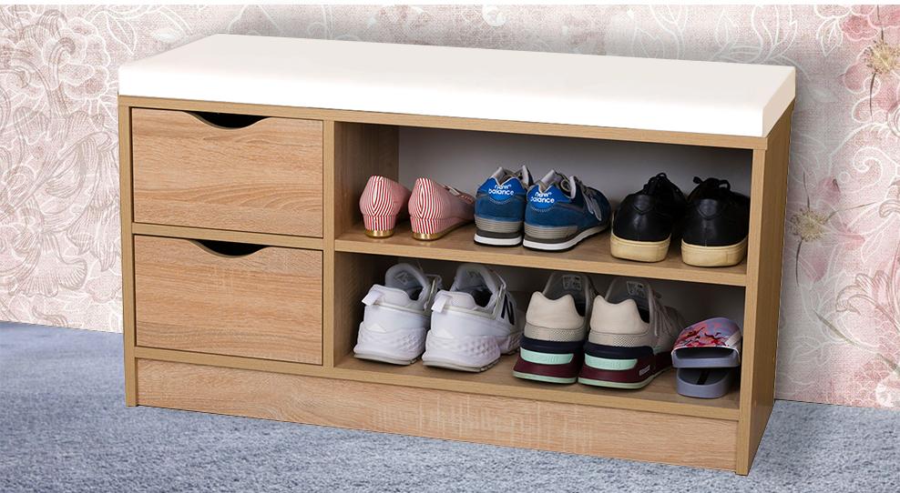 Функциональная мебель для маленькой прихожей