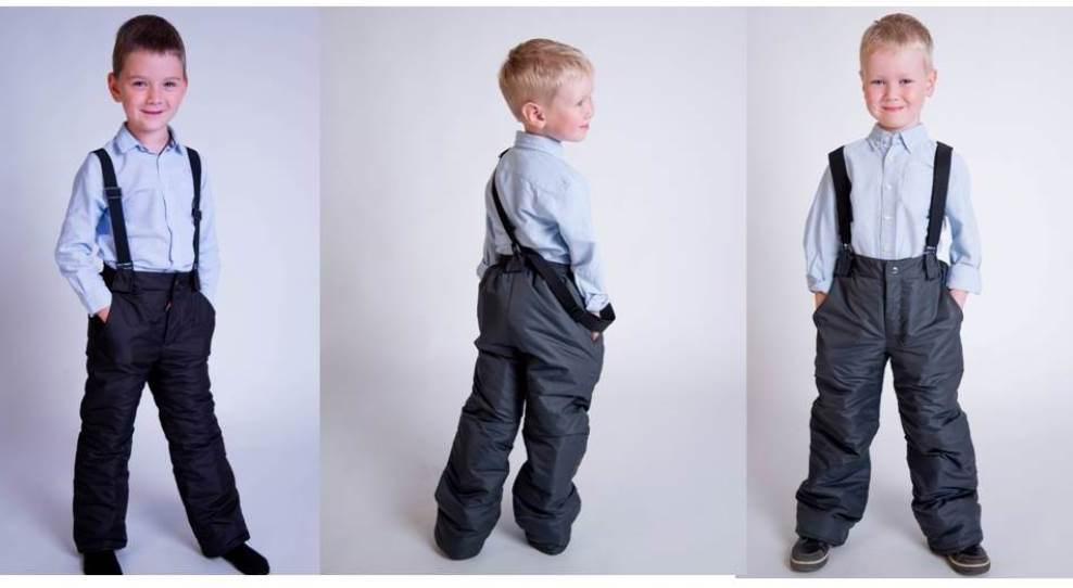 Зимние брюки для мальчика: обязательные качества практичной покупки
