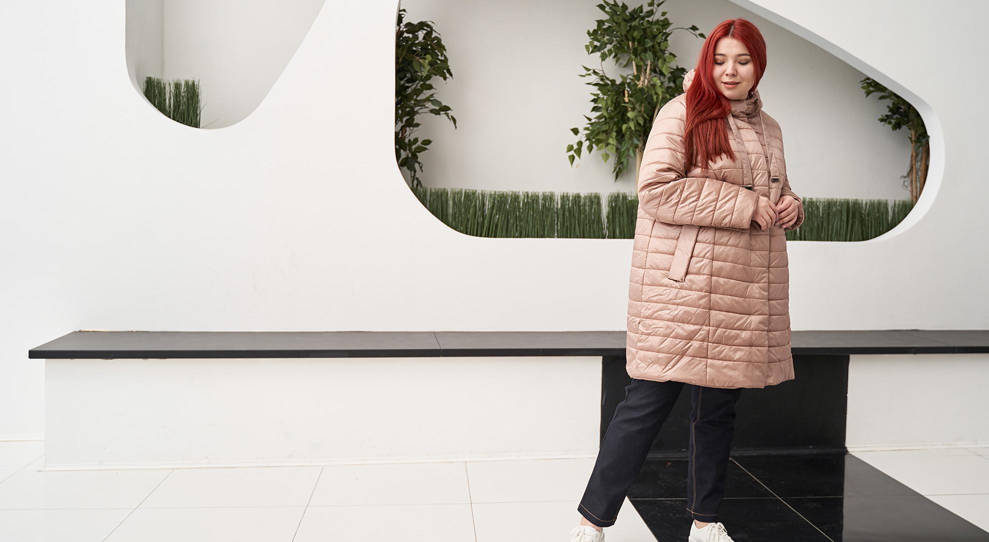 Модная весенняя одежда plus size