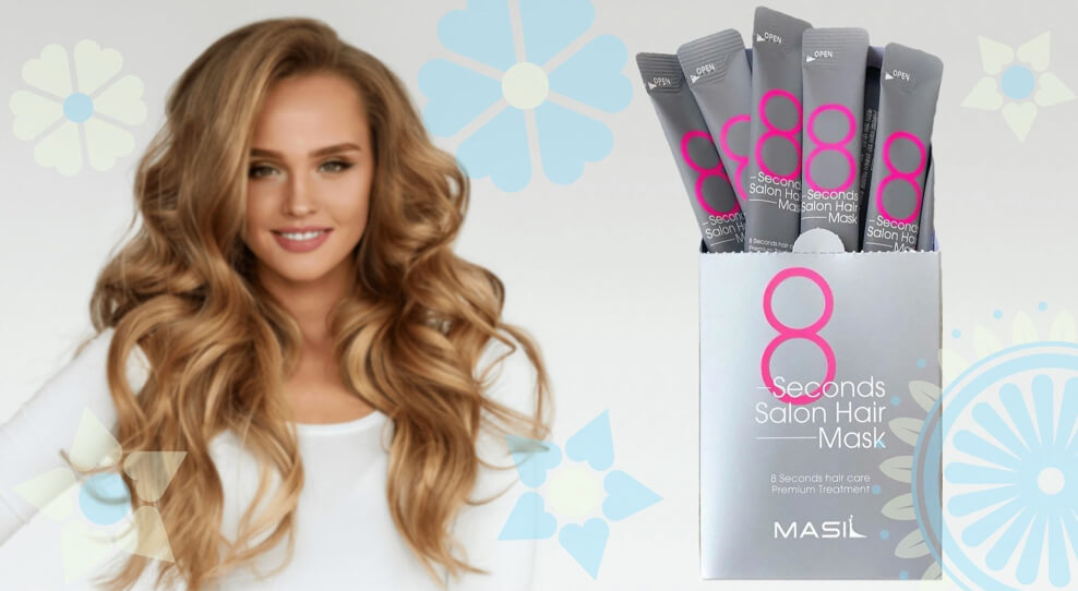Маска-филлер для восстановления волос Masil 8 Seconds Salon Hair Mask
