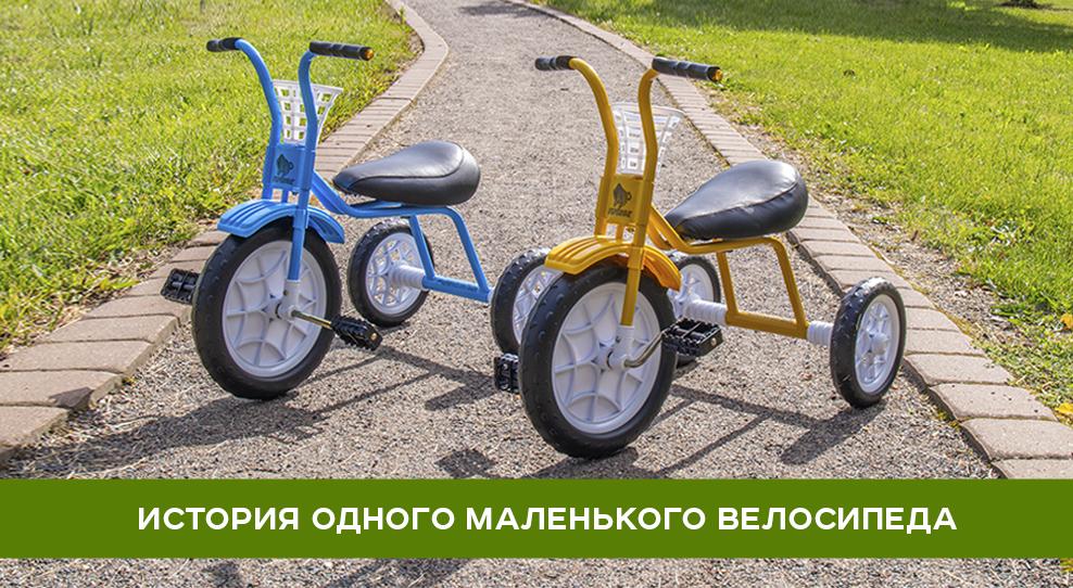 История одного маленького велосипеда Зубрёнок