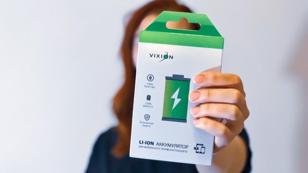 Аккумуляторы для мобильных устройств. Линейка Vixion