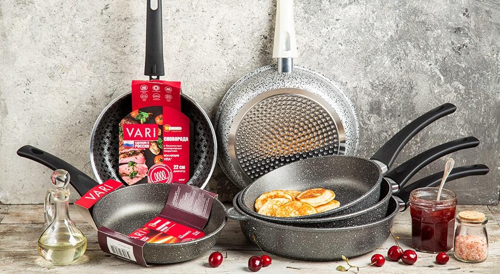 Сковорода VITA для индукционных плит от ведущего российского бренда VARI