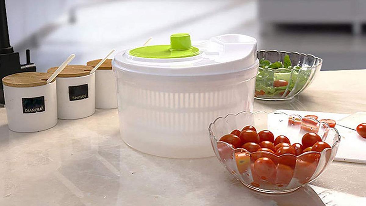 Сушилка для зелени: от куда взялась, как использовать и зачем.