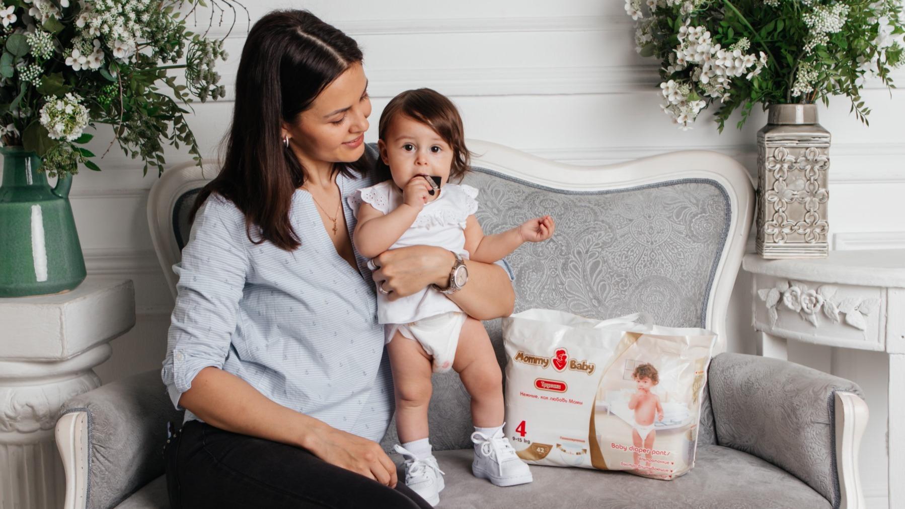 Подгузники Mommy Baby- нежные, как любовь мамы.